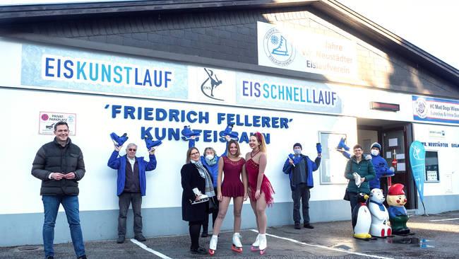"Die ""Friedrich Fellerer Eiskunstbahn"" in Wiener Neustadt"